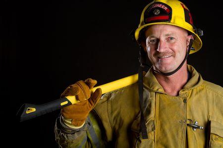Fireman Фото со стока