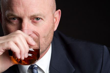 Man Drinking Stock Photo - 6821878