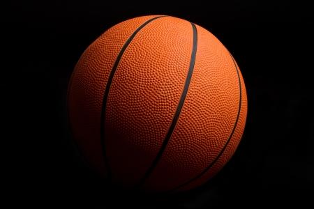 basketballs: Basketball on Black