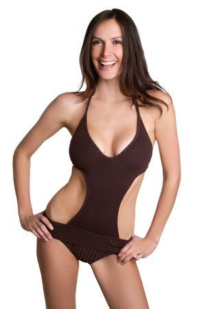 Smiling Bathing Suit Girl Stock Photo - 6829679