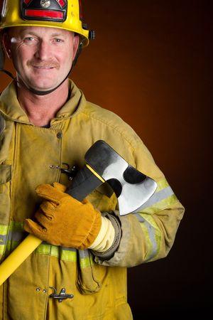 public safety: Smiling Fireman LANG_EVOIMAGES