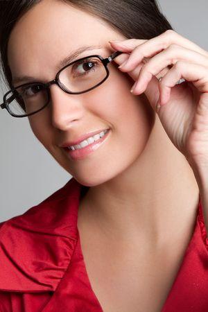 Eyeglasses Woman Stock Photo - 6829699