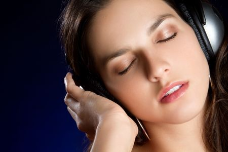 Teen Listening to Music Stock Photo - 6829694
