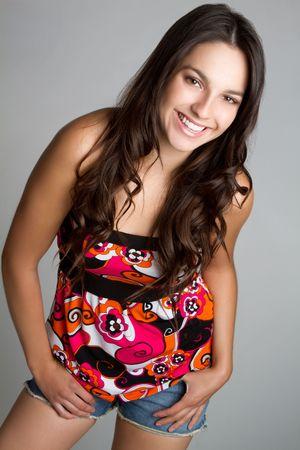 Happy Teen Girl Stock Photo - 6834729