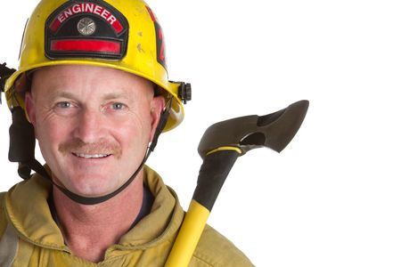 Male Firefighter Stock Photo - 6866712