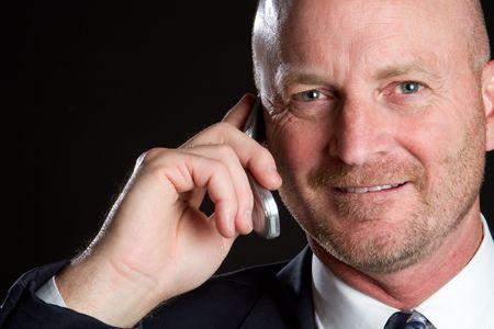 Businessman on Phone Stock Photo - 6866696