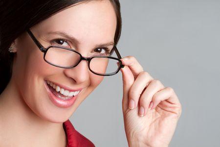 Girl Wearing Glasses Stock Photo - 6857710