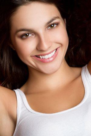 Beautiful Brunette Girl Stock Photo - 6857713
