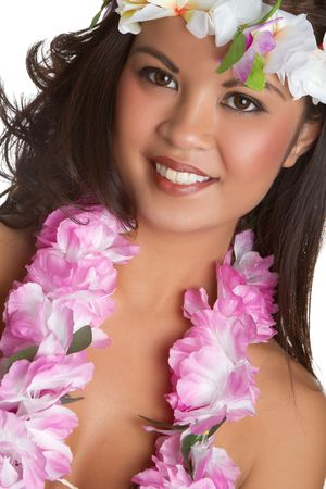 leis: Hawaiian Woman