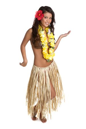 leis: Hula Dancer