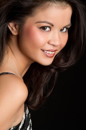 filipino ethnicity: Smiling Woman LANG_EVOIMAGES
