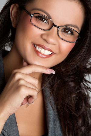 polynesian: Asian Businesswoman