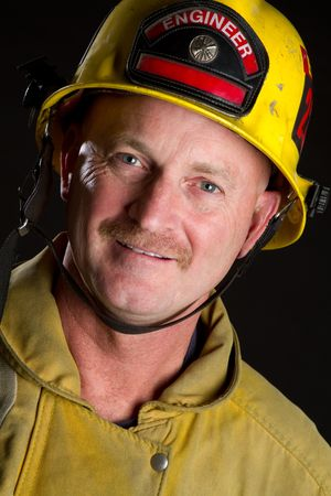 Fireman Smiling Stock Photo - 6921625