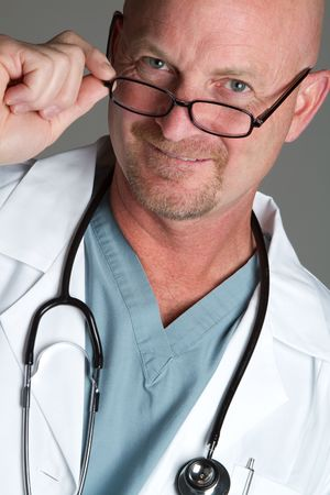 Doctor Wearing Glasses Stock Photo - 6921624