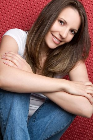 Casual Young Woman Stock Photo - 6921631