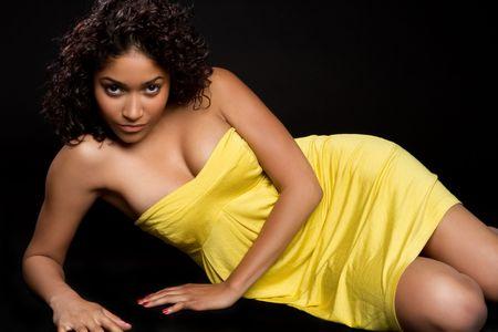 american curl: Beautiful Black Woman