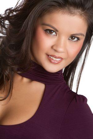 filipino ethnicity: Smiling Filipino Woman LANG_EVOIMAGES