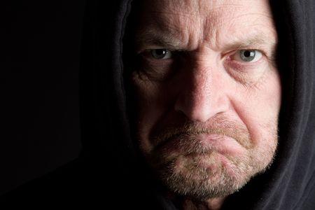 Angry Man photo