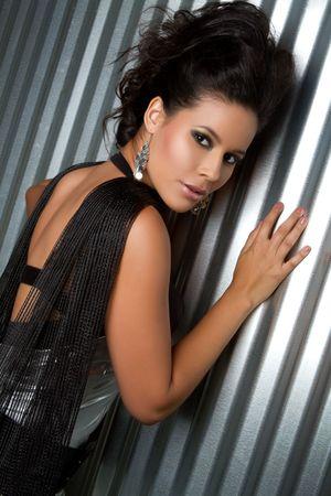 Beautiful sexy latin woman posing Stock Photo - 7007441