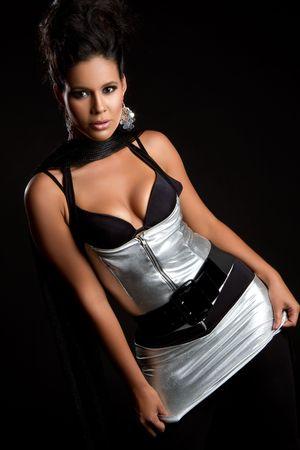 Fashion woman posing Stock Photo - 7115355