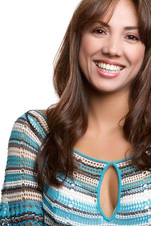 Hispanic woman portrait Standard-Bild