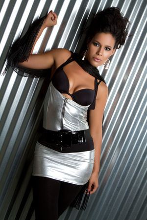 Beautiful latina fashion model woman Stock Photo - 7148570