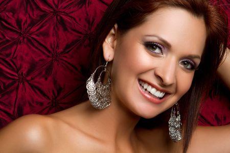 Beautiful smiling ethnic latina woman Stock Photo - 7172723