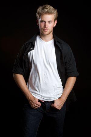 Cool young man Standard-Bild