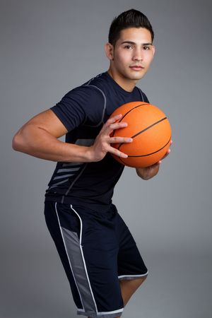 Young male basketball player Stock Photo - 7232773
