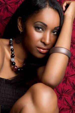 Woman closeup portrait Stock Photo - 7232778