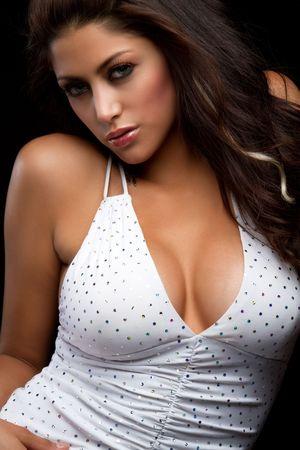 big boobs: Pretty Latina Woman  LANG_EVOIMAGES