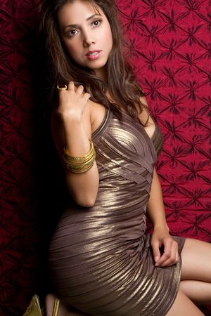 Latin fashion woman Stock Photo - 9073838