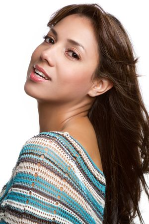 Young woman smiling Stock Photo - 9073842