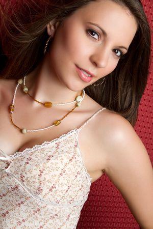 Beautiful fashion woman Stock Photo - 7525774