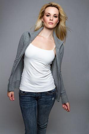 top model: Casual Fashion Woman
