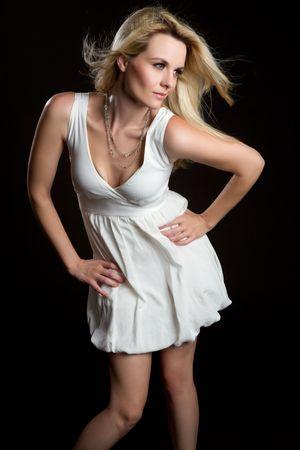 Fashion model woman Stock Photo - 8052774