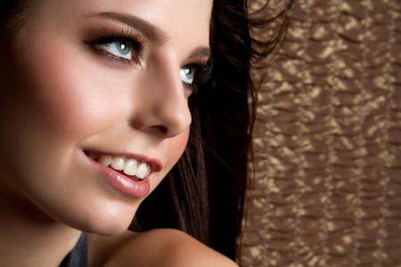 Beautiful smiling girl closeup Stock Photo - 9084264