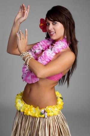 hula: Beautiful hawaiian hula dancer girl LANG_EVOIMAGES