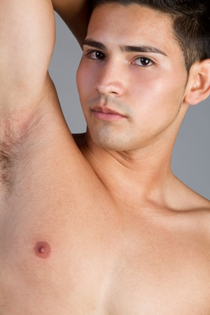 Sexy shirtless hispanic man Stock Photo - 11215879