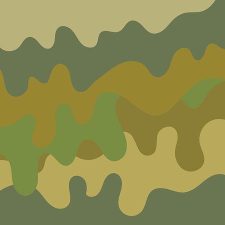 Military camouflage background pattern illustration