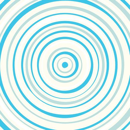 circulos concentricos: Blue círculos fondo ilustración