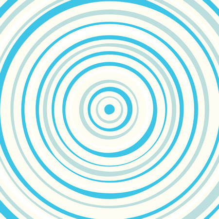 concentric circles: Blue circles background pattern illustration