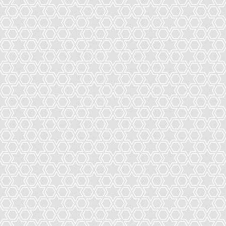 Seamless star pattern background illustration