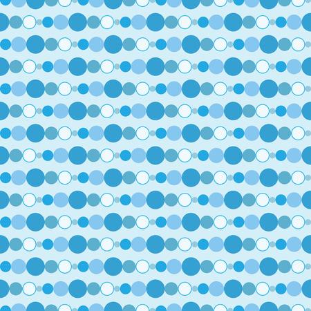 Naadloze blauwe cirkels patroon als achtergrond