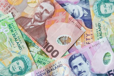 New Zealand paper money notes