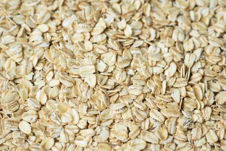 rolled oats: Close up of rolled oats