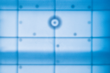 Abstract blue grid design pattern Stock Photo - 104807953