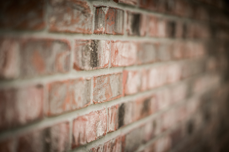 Grungy brick wall background texture