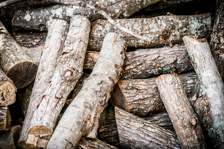Stack of firewood for burning Stock Photo - 105519475