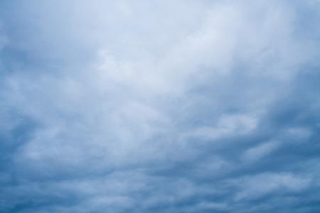 Ominous dark storm cloud formation